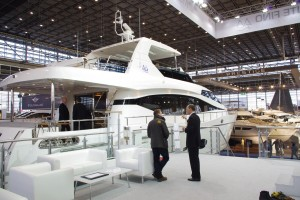 CMF deliver luxury yachts to Düsseldorf Boat Show