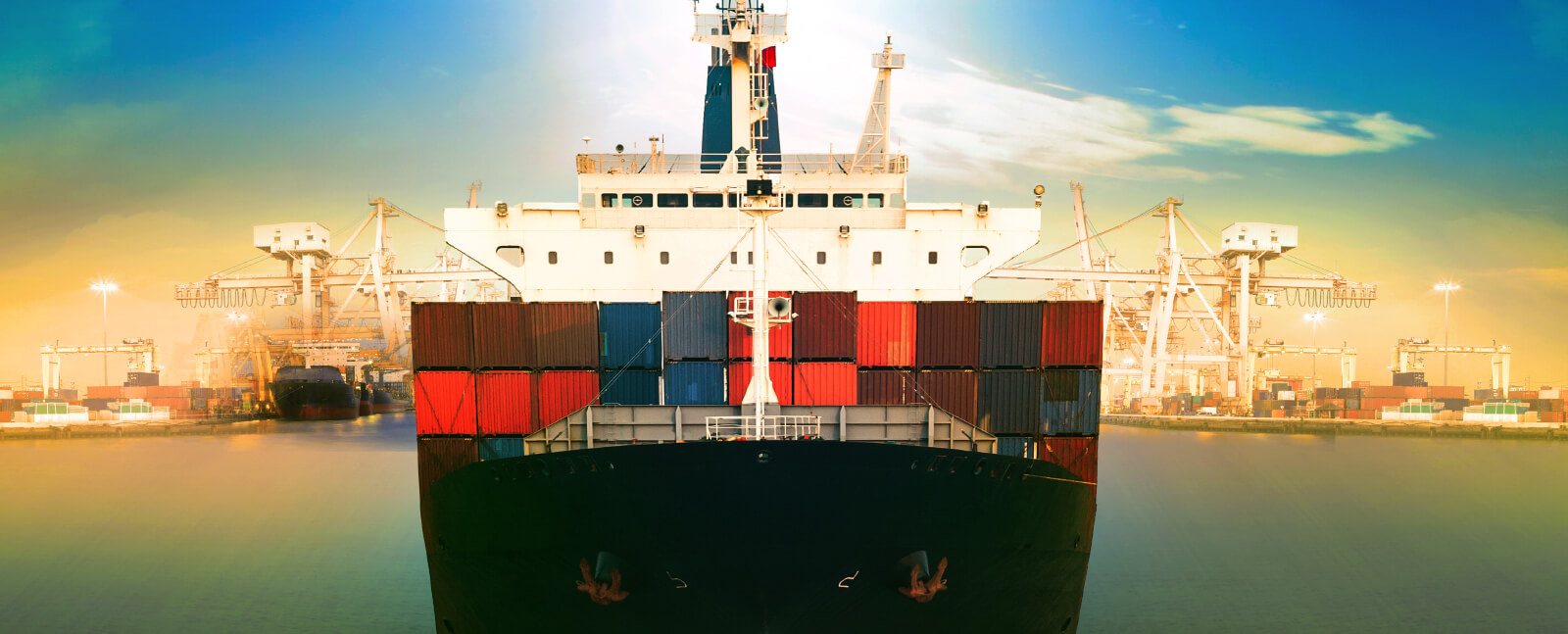 Container-trasnport